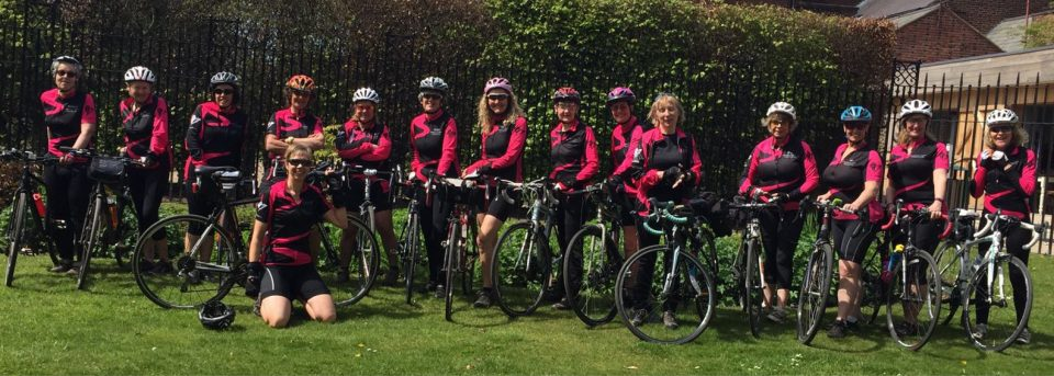 Hopwood Ladies sunshine ride
